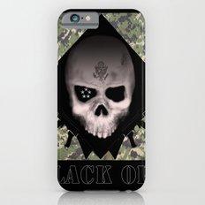 Black Ops Design Slim Case iPhone 6s