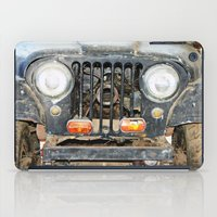 jeep iPad Cases featuring Willie Jeep by Urlaub Photography