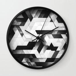 scope (monochrome series) Wall Clock