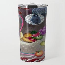 EMOJI FRUITS IN THE HAKUCHOU BASKET  Travel Mug
