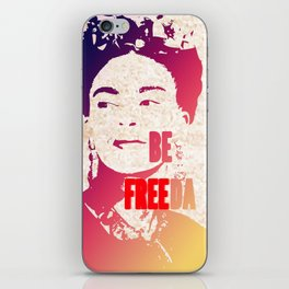 Be FREEda iPhone Skin