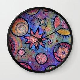 Sending Love and Healing Light Celestial Design Wall Clock