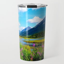 God's Country - Summer in Alaska Travel Mug