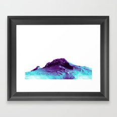 LOST TIME MOUNTAIN Framed Art Print