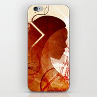daenerys iPhone & iPod Skins featuring Mother of Dragons by Micheal Calcara