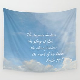 The Heavens Declare Wall Tapestry