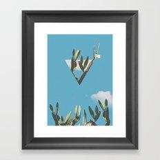 Cacti III Framed Art Print