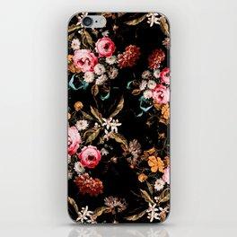 Midnight Garden IV iPhone Skin