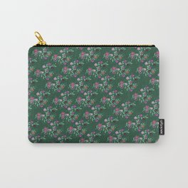 Succulent Hues, Floral Pattern Carry-All Pouch