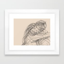 make-out? Framed Art Print