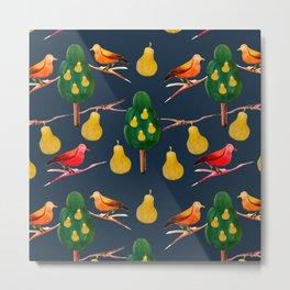 Partridge in a Pear Tree Metal Print