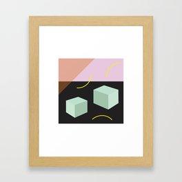 Element: Square Framed Art Print