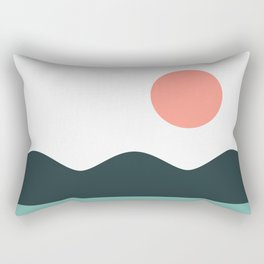Abstract Landscape 05 Rectangular Pillow