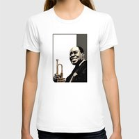 louis T-shirts featuring Louis Armstrong by f_e_l_i_x_x