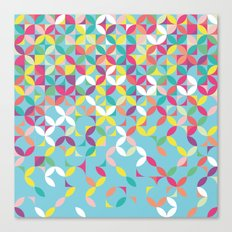 Giddy Geometric Canvas Print