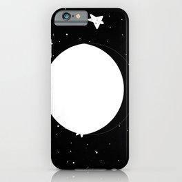 Moon Phases: waning gibbous iPhone Case