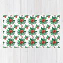 Green red orange Christmas sweet candy holy floral by pink_water