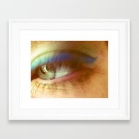 blink 182 Framed Art Prints featuring blink by Dottie