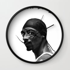 Salva Dogg Wall Clock