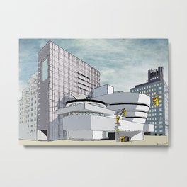 Salomon R. Guggenheim Museum, New York City Metal Print