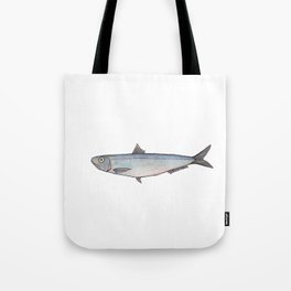 Sardine: Fish of Portgual Tote Bag