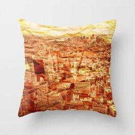 NYC Texture Throw Pillow