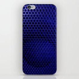 Speaker blue tint iPhone Skin
