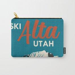 Ski Alta Utah Vintage Ski Poster Carry-All Pouch