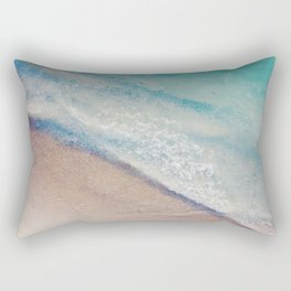The Ocean Mirror Rectangular Pillow