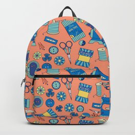 Buttons and Scissors and Pins, Oh My! Backpack