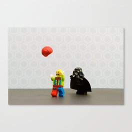 Vader vs Clowns Canvas Print
