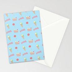 candy pattern Stationery Cards