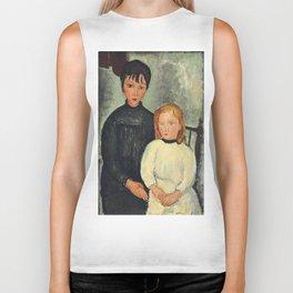 "Amedeo Modigliani ""Les deux filles"" Biker Tank"