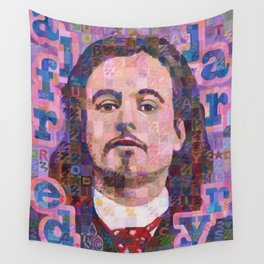 Portrait Of Alfred Jarry Wall Tapestry