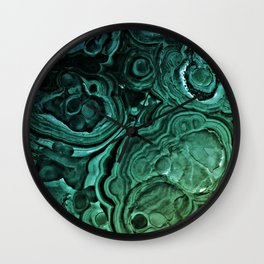 MALACHITE GREEN Wall Clock