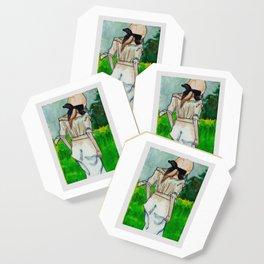 Girl in the Grass II Coaster