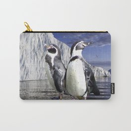 Penguins and Glacier Carry-All Pouch