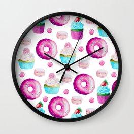 Fun Sweets Wall Clock