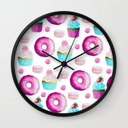 Fun Sweets Wall Clock