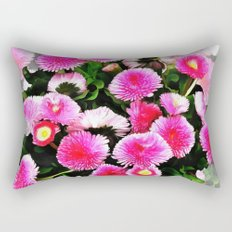 Pink Flower 25 Rectangular Pillow