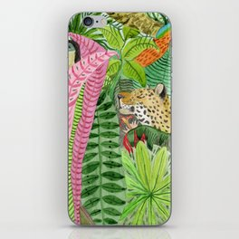 Jungle animals iPhone Skin