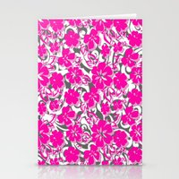 flower pattern Stationery Cards featuring Flower Pattern  by Sammycrafts