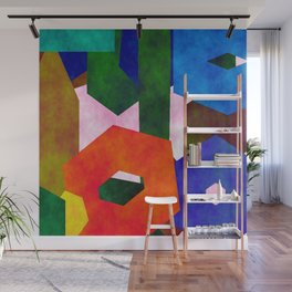 Retro Artistic Pattern Wall Mural