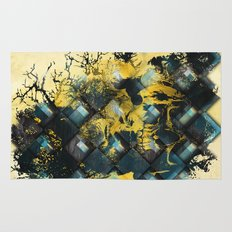 Abstract Thinking Remix Rug