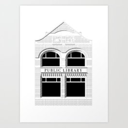 Joint Library Art Print