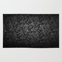 lace Area & Throw Rugs featuring Lace. by HAUS OF DEVON