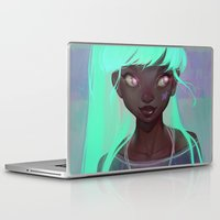 loish Laptop & iPad Skins featuring lumen by loish