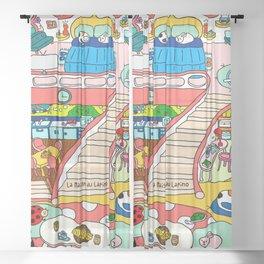La Maison du Lapino Sheer Curtain