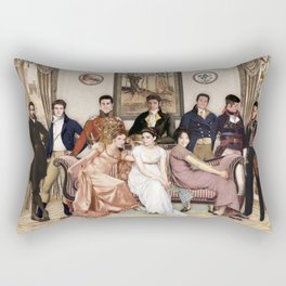 Pride and Prejudice and Werewolves Rectangular Pillow