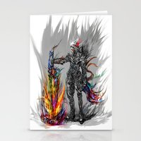 viking Stationery Cards featuring viking by ururuty